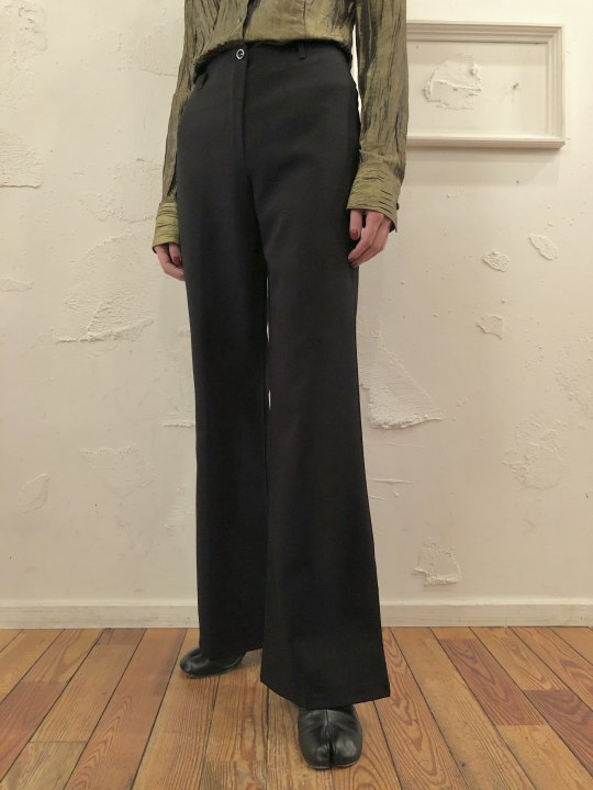 Vintage Black Flare Pants S
