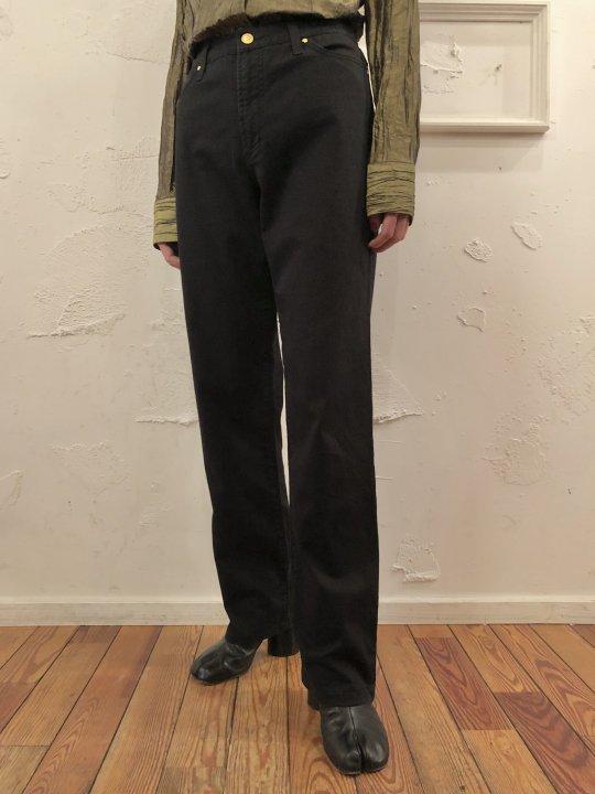 Vintage VERSACE Black Stretch Jeans M
