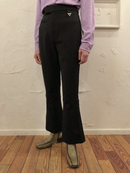 Vintage DKNY Flare Pants Black S/M