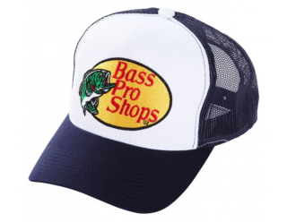 Bass Pro Shops Embroidered Logo Mesh Caps ネイビー