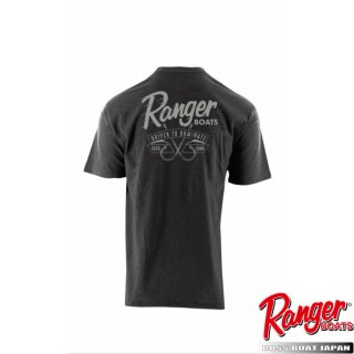 【Ranger Boats レンジャーウェア】Graphic S/S Tee - Charcoal Heather - Driven To Dominate