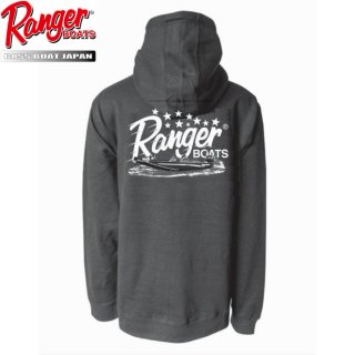 【Ranger Boats レンジャーウェア】Pullover Hoodie - Anthracite (Black)